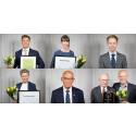 Välförtjänta pristagare på Svenska Golfförbundets årsmöte