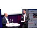 Cherrys VD Fredrik Burvall presenterar på Stora Aktiedagen i Stockholm