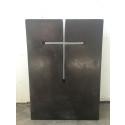 Humana begravning förmedlar gravstenar i betong