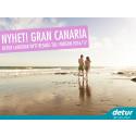 Detur lanserar Gran Canaria – en svensk charterklassiker