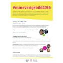 INBJUDAN: #minsverigebild2016 i Almedalen 6-7 juli 2016