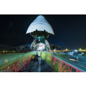 EUTELSAT 8 West B satellite lands in Kourou spaceport and preps for Ariane 5 launch on 20 August