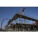 Stark tillväxt för användningen av byggmaterial
