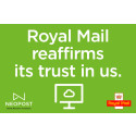 Royal Mail reaffirms its trust in us