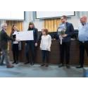 Vård och omsorg vann Interna miljöpriset