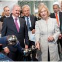 Autonome Systeme: Fachforum stellt Forschungsministerin Wanka Prototypen vor