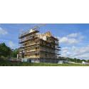 Isolering från ROCKWOOL  när nytt trähuskvarter växer fram i Jönköping
