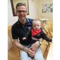 Alan takes a leap of faith for family in sponsored skydive