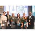 The start-up challenge award ceremony