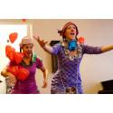 Clownbesök - en positiv upplevelse för barn som anhöriga