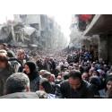 Syrien: Civilbefolkningen svälter ihjäl i ett belägrat Yarmouk
