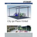 Produktblad Cykeltak City 90 Enkel