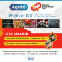 Kolaborasi Agate Studio dan Epson Tampilkan Interaktif Game dalam Gelaran Bekraf Game Prime 2017