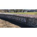 Pressinbjudan: Muren i Knektaparken snart färdigbyggd