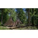Nya Camp Oak förlänger äventyret på Skånes Djurpark