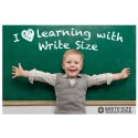 Write Size makes child writing as easy as A, B, C.
