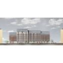 Järfällahus bygger 132 nya lägenheter i centrala Jakobsberg