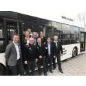 Norrtälje först i landet med elbussar i hela stadsnätet
