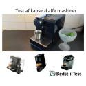 Testvinder: Bedste kapsel-kaffemaskine fundet