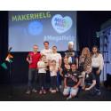 Årets vinnare under Stockholm Mini Maker Faire 2016 korade