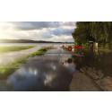 Kontaktuppgifter under översvämningarna i Halmstad