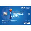 Nadia Nadim frontfigur for Visa ved dette års FIFA VM for kvinder i Frankrig