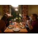 Grannar äter tillsammans för ökad integration