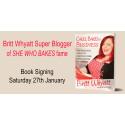 Award Winning Baking Blogger Book Signing
