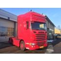 Fra V8 til 6-cylindret Scania