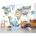 Maps - en ny tapetkollektion med världskartor från Mr Perswall