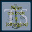 Myter om brott & (o)trygghet - No 1