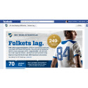 Nu tar supportrarna plats på IFK Norrköpings matchtröjor