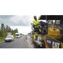 Trafiken utmaning när E4 får ny asfalt söder om Umeå