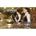 Hörslingor för hotell och konferens - Univox på LOUNGE Event 2018