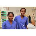 Namibiska sjuksköterskestudenter får inblick i svensk sjukvård