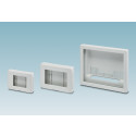 Electronics housings for display units