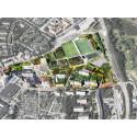 Attraktiva stadskvarter planeras vid Tyresö centrum