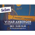 SeSam-föreläsning tisdag 28 februari
