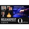 Releasefest för magasinet Opulens nu på fredag!