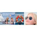 Finnlines bjuder på riktiga vykort via Postifys vykortsapp