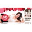 Nour El Refai avslutar En komisk depression på China Teatern den 9 april