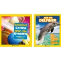 HarperCollins Nordic ger ut barnböcker i samarbete med National Geographic