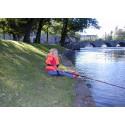 Barn och ungdomar får prova fiskelyckan i Svartån