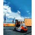Produktionen av Stills nya hybridtruck har påbörjats