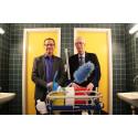Forenede Service skal nu gøre rent i Haderslev Kommune og fordobler rengøringen af kommunens skoletoiletter