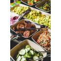 Tallink Silja | große Auswahl an vegetarischen und veganen Speisen beim neuen Sommerbuffet