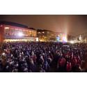 Julstaden Göteborg invigs på Götaplatsen