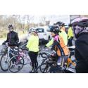 Fullsatt cykelläger för tjejer
