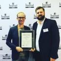 Visbyhotellet S:t Clemens prisas för bäst gästomdömen i Sverige.
