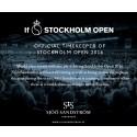 Sjöö Sandström - Official Timekeeper för If Stockholm Open 2016
